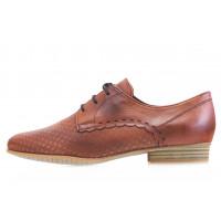 Туфли кожаные TAMARIS (Germany) 13990 коричневые