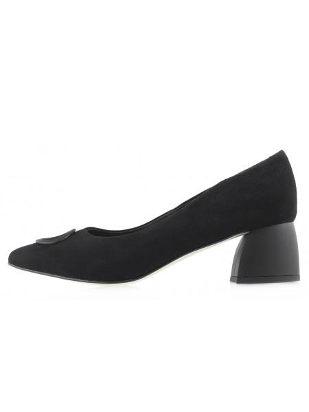 14095 BONTY (Poland) Туфли замшевые черные с/х