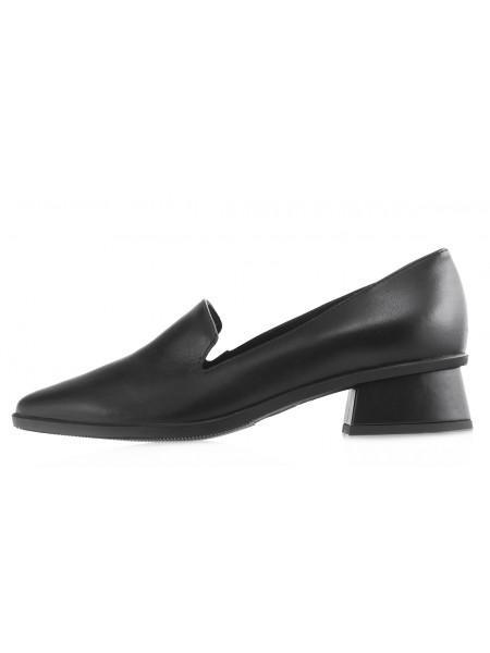 Лоферы кожаные RYLKO (Poland ) 14100 черные