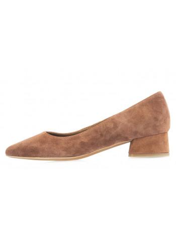 14103 RYLKO (Poland) Туфли замшевые коричневые с/х