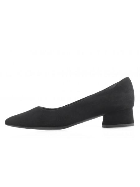Туфли замшевые RYLKO (Poland ) 14104 черные