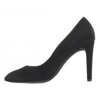 14105 RYLKO (Poland) Туфли замшевые черные в/х