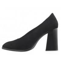 Туфли замшевые LIBA SHOES (Turkey) 14113 черные