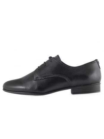 Туфли кожаные TAMARIS (Germany) 14156 черные