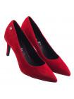 Туфли замшевые S.OLIVER (Germany) 14165 бордовые