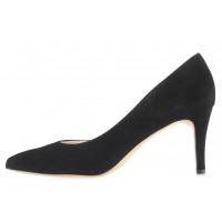 Туфли открытые замшевые SHOEBOOUTIQUE (Poland ) 14169 черные