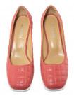 Туфли женские кожаные DESCARA (Turkey) 14231 коричневые