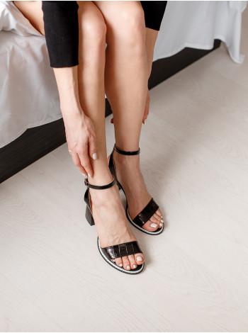 Босоножки женские кожаные DESCARA (Turkey) 14237 черные