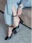 Туфли женские кожаные INDIANA (Brazil) 14241 черные