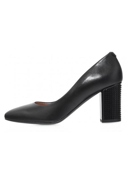 Туфли женские кожаные BONTY (Poland) 14246 Черные