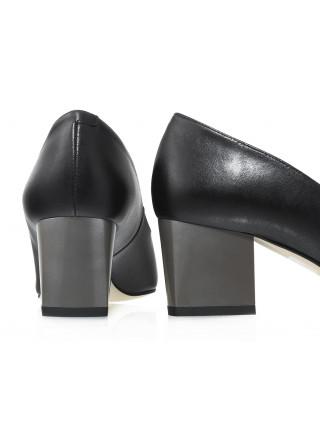 Туфли женские кожаные BONTY (Poland) 14247 Черные