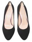 Туфли женские замшевые BONTY (Poland) 14248 Черный
