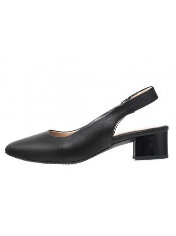 Босоножки женские кожаные DESCARA (Turkey) 14251 черный