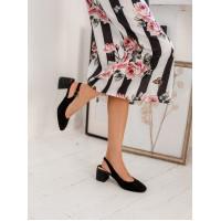 Туфли замшевые женские TAMARIS (Germany) 14259 черные
