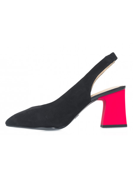 Туфли замшевые женские TAMARIS (Germany) 14262 черные