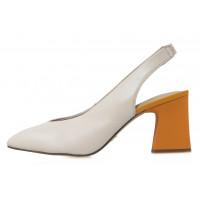 Туфли кожаные женские TAMARIS (Germany) 14266 бежевые
