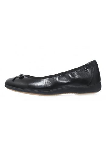 Балетки кожаные женские TAMARIS (Germany) 14269 черные
