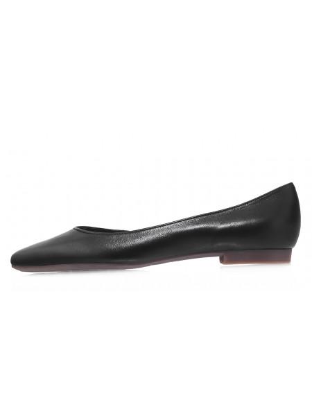 Туфли кожаные закрытые RYLKO (Poland) 14292 черные