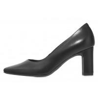 Туфли кожаные женские RYLKO (Poland) 14302 черные