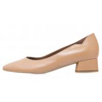 Туфли кожаные женские RYLKO (Poland) 14303 коричневые