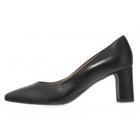 Туфли кожаные женские RYLKO (Poland) 14304 черные
