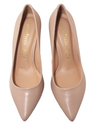 Туфли кожаные женские CAPELLI ROSSI (Brazil) 14337 бежевые