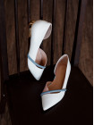 Туфли кожаные женские CAPELLI ROSSI (Brazil) 14343 белые