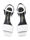Босоножки кожаные женские CAPELLI ROSSI (Brazil) 14353 белые