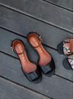 Босоножки кожаные женские CAPELLI ROSSI (Brazil) 14358 черные