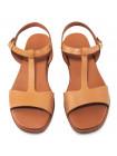 Босоножки кожаные женские TAMARIS (Germany) 14375 коричневые
