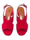 Босоножки замшевые женские TAMARIS (Germany) 14385 красные