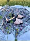 Босоножки кожаные DESCARA (Turkey) 14412 розовые