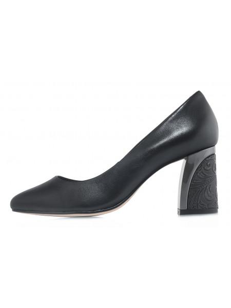 Туфли кожаные CAPELLI ROSSI (Brazil) 14473 чёрные