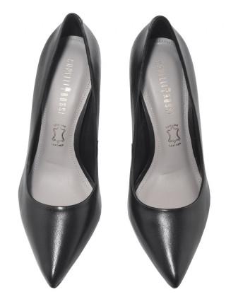 Туфли кожаные CAPELLI ROSSI (Brazil) 14474 чёрные