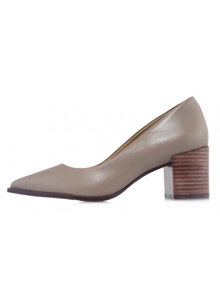 Туфли кожаные INDIANA (Brazil) 14475 серые