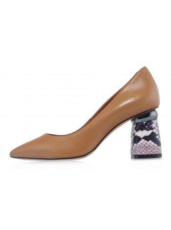 Туфли кожаные CAPELLI ROSSI (Brazil) 14476 коричневые