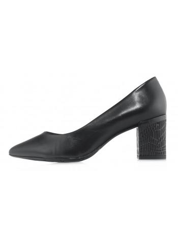 Туфли кожаные CAPELLI ROSSI (Brazil) 14477 чёрные