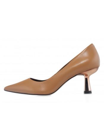 Туфли кожаные CAPELLI ROSSI (Brazil) 14479 коричневые