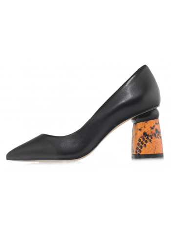 Туфли кожаные CAPELLI ROSSI (Brazil) 14480 чёрные