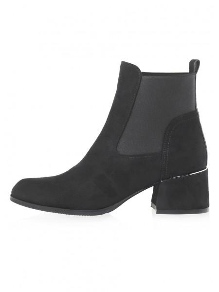 Ботинки осенние текстильные RIO RF (China) 14492 чёрные