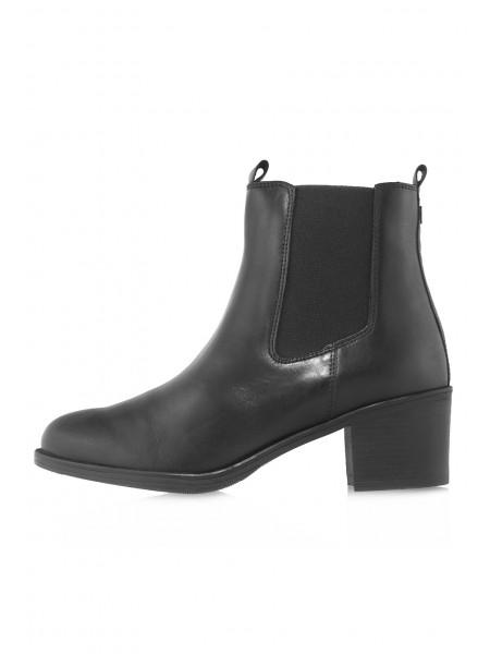 Ботинки осенние кожаные CAPRICE (Germany) 14517 чёрные