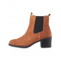 Ботинки осенние замшевые CAPRICE (Germany) 14518 коричневые