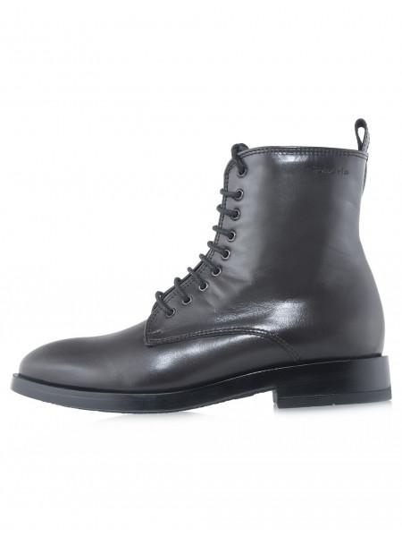 Ботинки осенние кожаные TAMARIS (Germany) 14531 оливковые