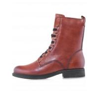 Ботинки осенние кожаные TAMARIS (Germany) 14532 коричневые