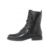 Ботинки осенние кожаные TAMARIS (Germany) 14538 чёрные