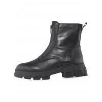 Ботинки осенние кожаные TAMARIS (Germany) 14539 чёрные