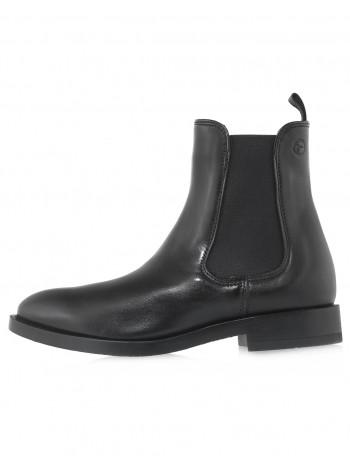 Ботинки осенние кожаные TAMARIS (Germany) 14540 чёрные