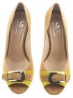 1652 1,618 (Italy) Туфли замшевые св.коричнево-желтые