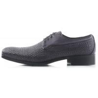 2207 DASTHON (Italy ) Туфли темно-серые