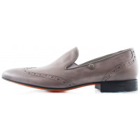 Туфли-броги кожаные ROBERTO di PAOLO (Poland ) 2216 серые